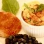 El omelet italiano, la fritata es una delicia, son huevos batidos con jitomate deshidratado, queso y albahaca.