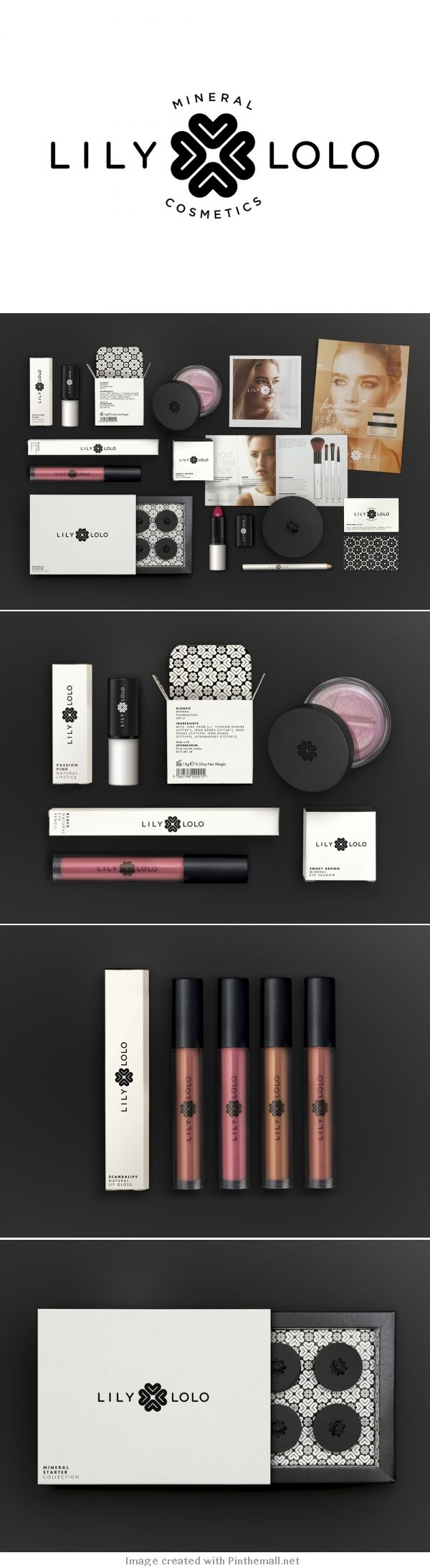 This black background works really well for the white product packaging, this could be an idea to photograph sketches on.