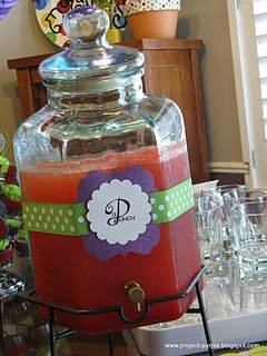 Project Purple: Wedding Shower. Shower punch