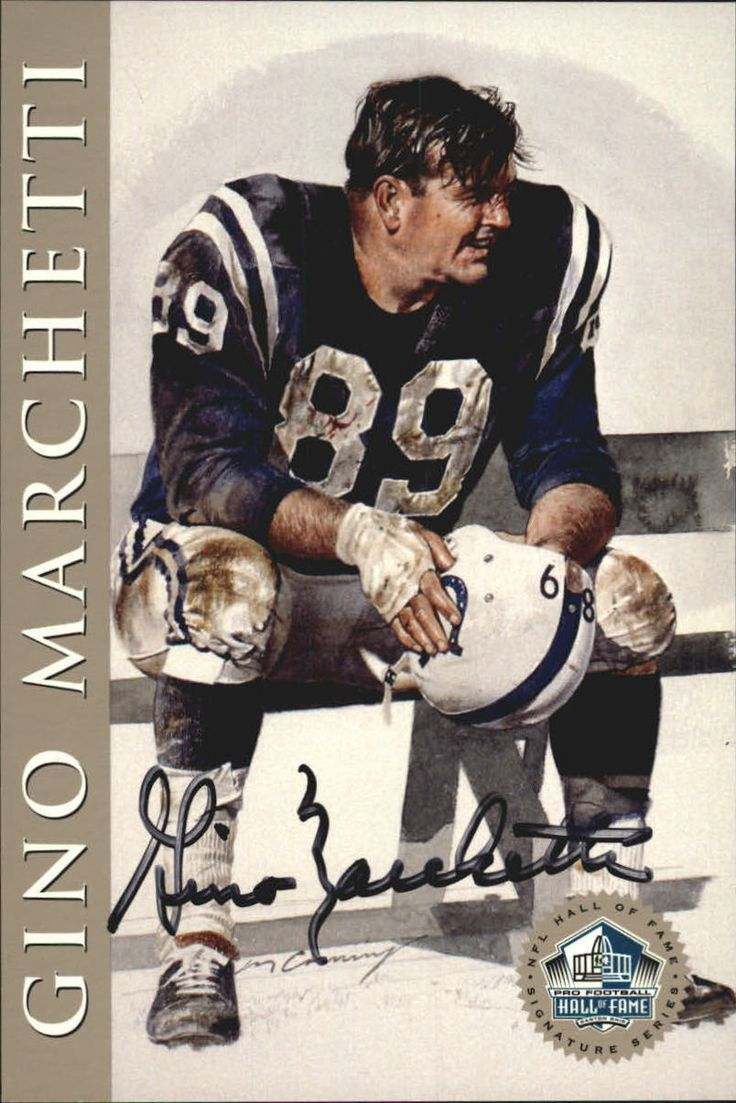 1998 Ron Mix HOF Platinum AutographsNNO Gino Marchetti Texans/Colts /2500 O11168 in Sports Mem, Cards & Fan Shop, Cards, Football | eBay