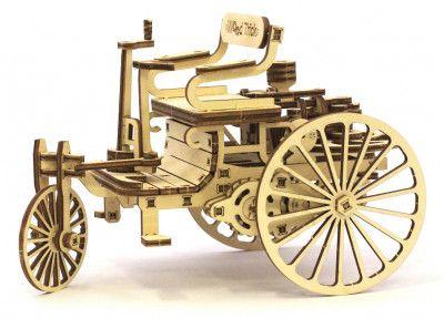 Конструктор Wood Trick Первый автомобиль 152 деталей (1234-9)