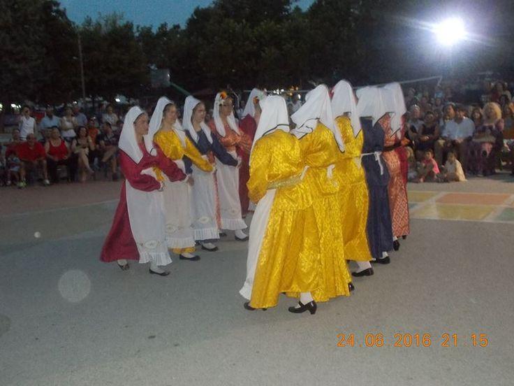 Χορευτική εκδήλωση του Συλλόγου απανταχού Σκαμνιωτών στον Αμπελώνα