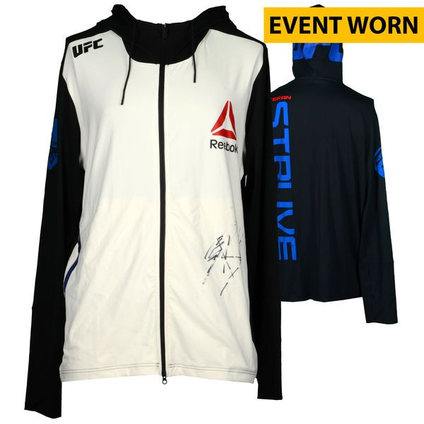 Stefan Struve Ultimate Fighting Championship Fanatics Authentic Autographed UFC 193: Rousey vs. Holm Event-Worn Walkout Hoodie - Fought Jared Rosholt in a Heavyweight Bout - $249.99