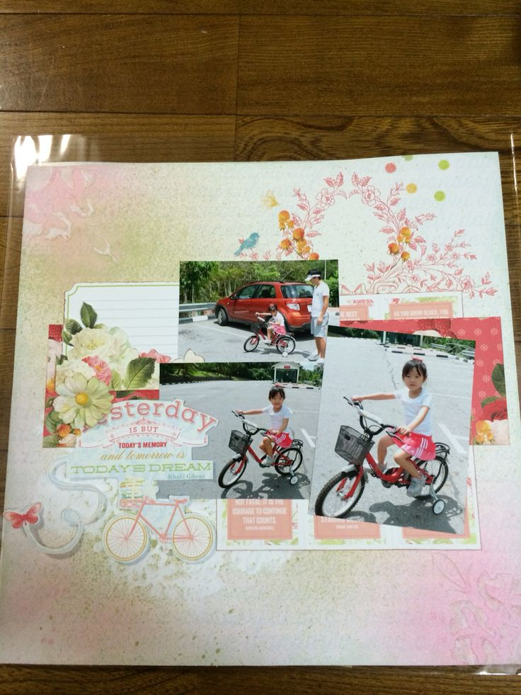 Scrapbooking 12Lo Bike