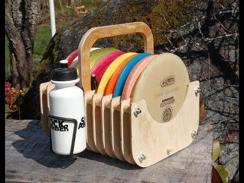 DIY wooden Disc Golf Bag - YouTube