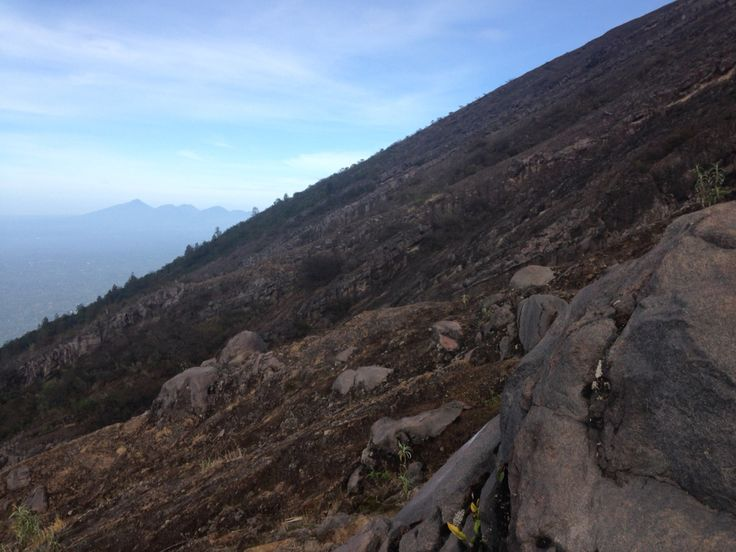View from Mt. Agung