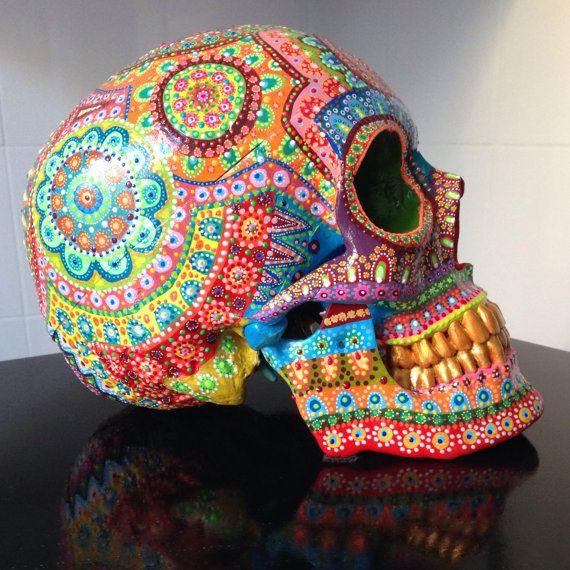Skull mpgautheron von mpgautheron auf Etsy, €250.00