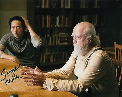 Scott Wilson signed The Walking Dead 8x10 photo w/coa Hershel Greene #SW4