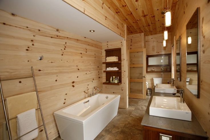 Photo 1 salle de bain en bois salle de bain salle de D2co salle de bain