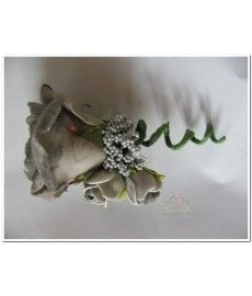 Corsage Roos Taupe CEM17