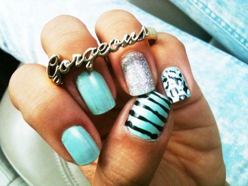 GORGEOUS;)Fashion, Nails Art, Nails Colors, Cute Nails, Nails Design, Hot Nails, Nailsart, Pretty Nails, Nails Polish