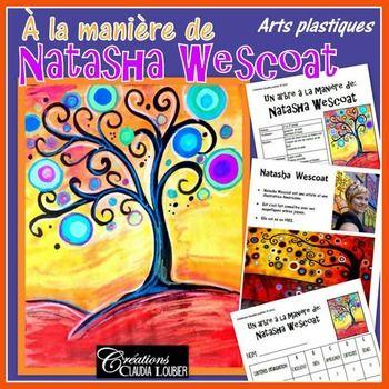 Automne: Arts plastiques: Arbre d'automne à la Natasha Wescoat
