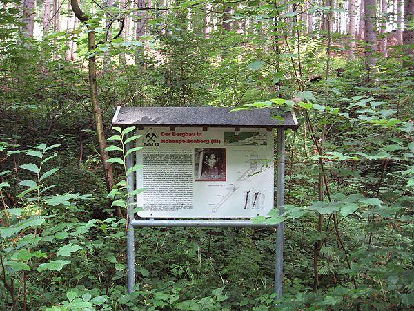 Lehrpfad für Bergbau, Geologier und Landschaft - Aktiv (Berg-)wandern - Wanderung Stollenweg Hohenpeißenberg / Peißenberg
