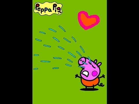 Peppa Pig Online Coloring Pages Pic 9