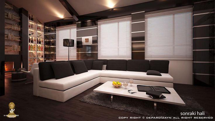 villa-iç-mekan-tasarimi