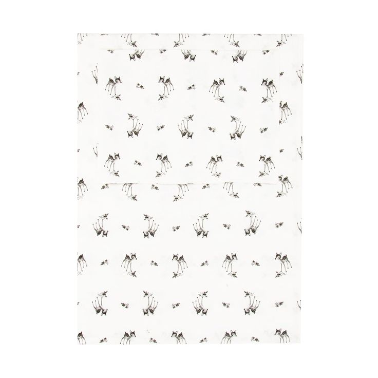 Fawn Single Bedding Set by Rose in April, available at Bobby Rabbit.