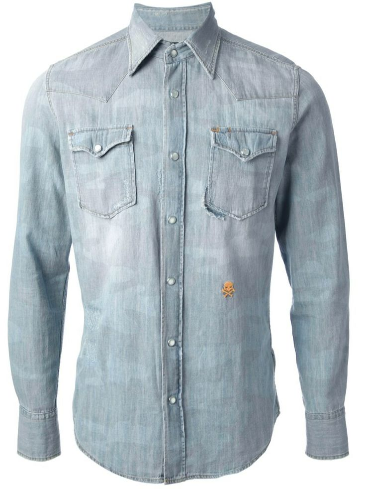 Shirt HYDROGEN  #alducadaosta #denim #trend #man #spring #summer #collection #style #fashion #classy #apparel #accessories #hydrogen