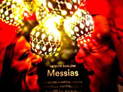 Teatterin lumoa 2017: Joulu on Messiiaan uuden comebackin, kuten minun, odotuksen aikaa.