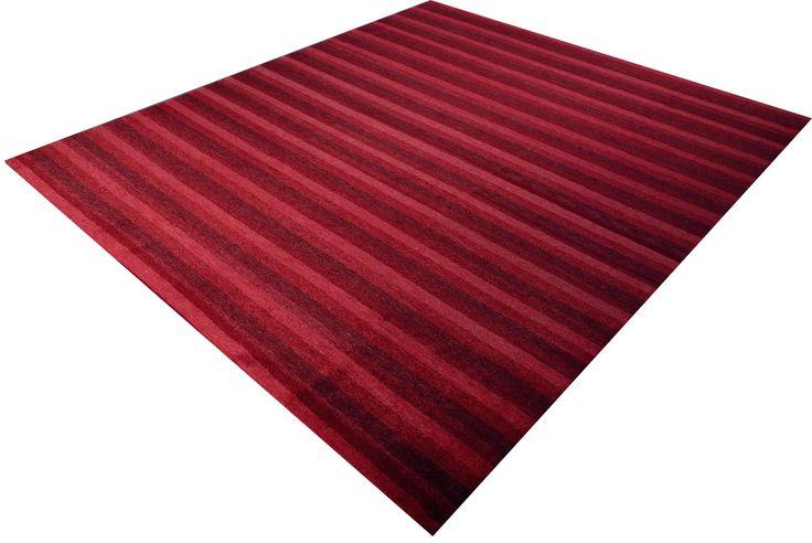 Nemoh Red Stripes - Kräftige Rottöne in modernem Streifendesign.
