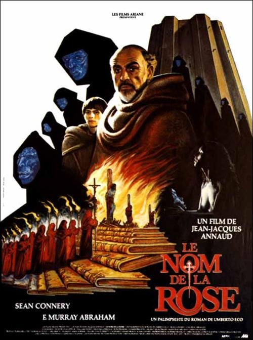 EL NOMBRE DE LA ROSA (1986) (RFA) - Dir: Jean-Jacques Annaud. Int: Sean Connery, Christian Slater, F. Murray Abraham
