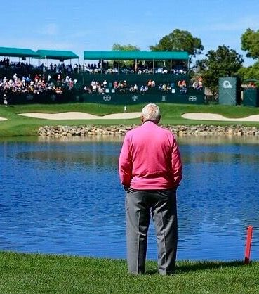 Looking on at Bay Hill.