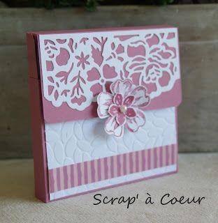 Scrap' à Coeur: Catalog'party (3) - boite à cartes
