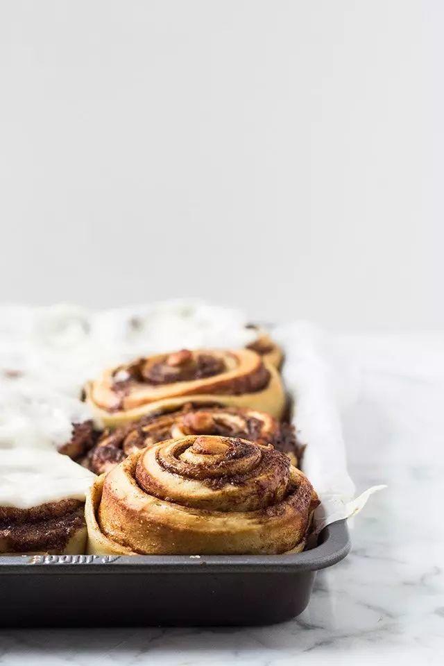 overnight cinnamon buns.   via Tumblr on We Heart It   Only B-R-E-A-D ...