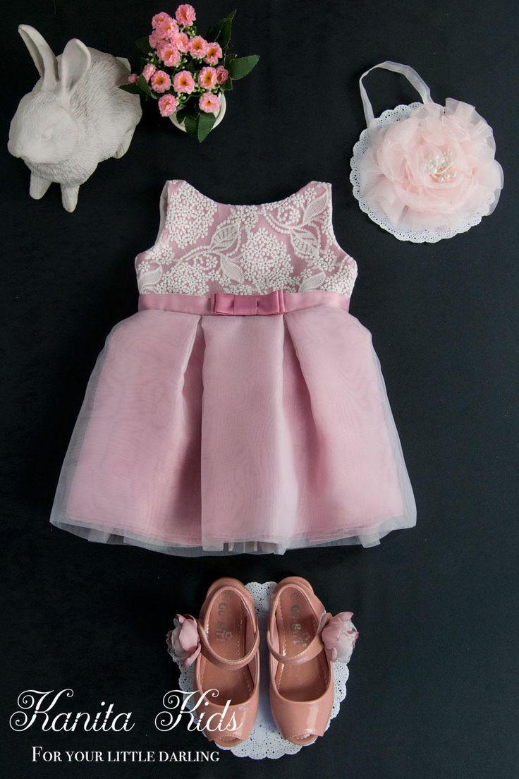 Toddler Easter Dress Pink, Toddler Easter Dress, Toddler Easter Outfit Pink, Toddler Spring Dress, Girls Easter Dress, Pink Dress Toddler by KanitaKids on Etsy