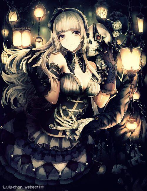 Gothic anime girl anime girls random pinterest - Dark anime girl pics ...