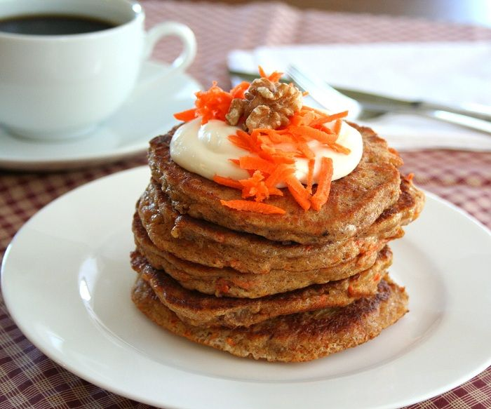 Carrot Cake Pancakes from @dreamaboutfood