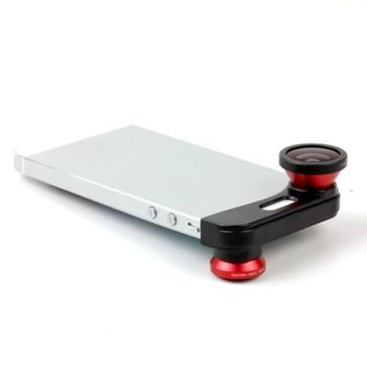 3 in 1 Fish Eye + Wide Angle + Macro Camera Photo Zoom Lens Kit for iPhone 5 5s Free Shipping