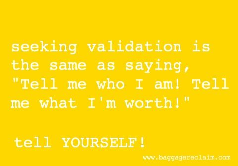 Why It's Time To Stop Seeking Validation – People Just Aren't That Objective! | Baggage Reclaim by Natalie Lue