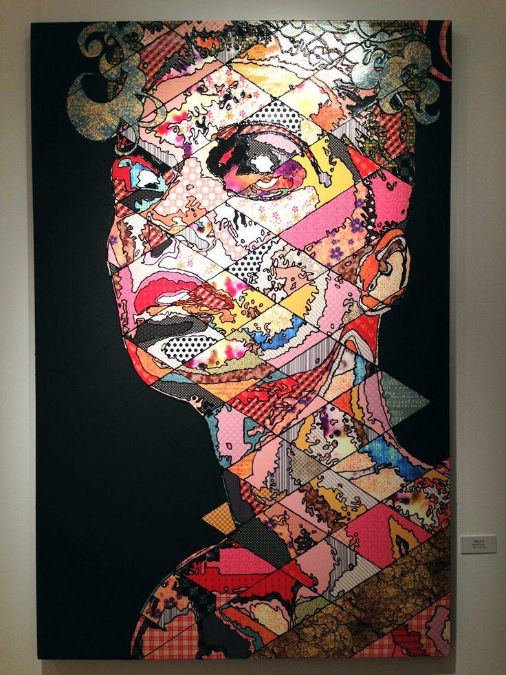 Pınar Du Pre  Milla, 150x100 cm, mixed media, 2013