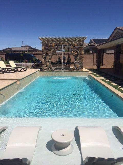 119 best Geometric Pools images on Pinterest | Swimming pools ...