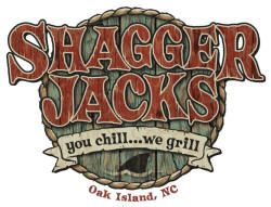 Every time we go to Oak Island we have to take Cooper to Shagger Jacks for ribs