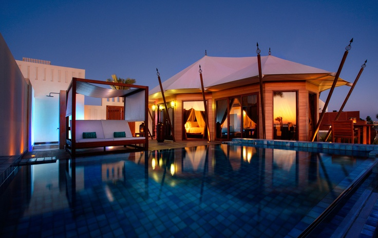 Luxus Urlaub in den Vereinigten Emiraten in einer aussergewöhnlichen Location im Banyan Tree Al Wadi, Ras Al Khaimah http://www.beauty24.de/region-locationdetail-18195415-18195413.html