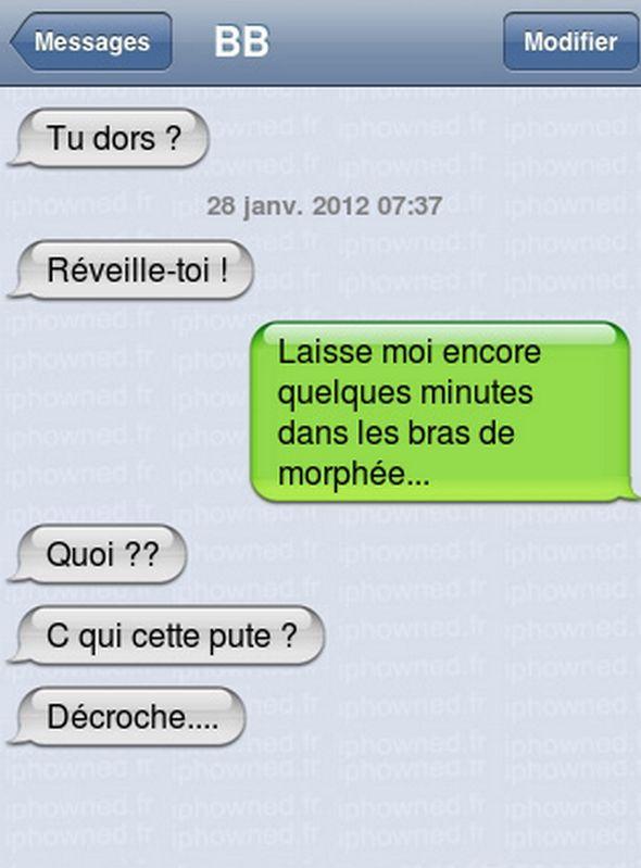SMS drôles. | Le blog de Radiblog