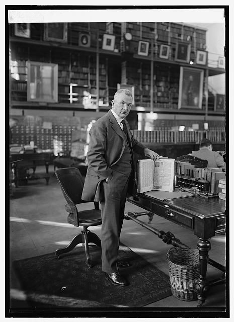 Title: Brig. Gen. R.E. Noble, Librarian of Army Medical Library, 11/18/24 Date Created/Published: [19]24 November 18. Medium: 1 negative : glass ; 5 x 7 in. or smaller Reproduction Number: LC-DIG-npcc-26437 (digital file from original) Rights Advisory: No known restrictions on publication. Call Number: LC-F81- 33256 [P&P] Repository: Library of Congress Prints and Photographs Division Washington, D.C. 20540 USA