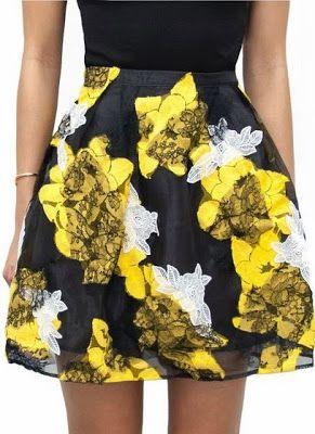 DIY: personalizar una falda con retales de encaje