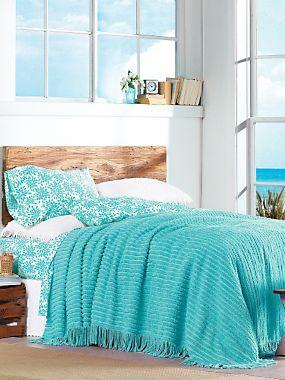Chic Chenille Bedspread Linensource Decor Textiles In