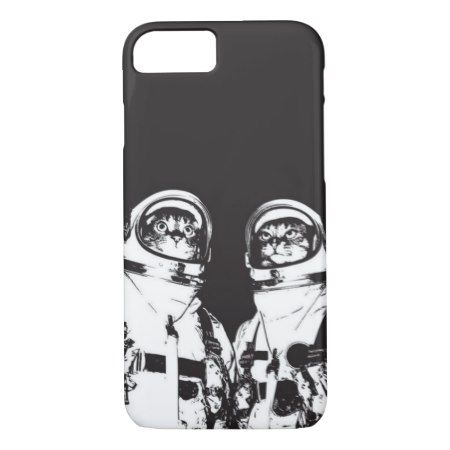 Cat Astronauts iPhone 7 Case - click/tap to personalize and buy