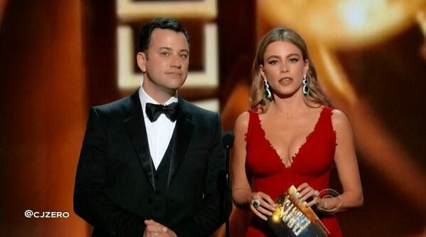 Fat Talk on TV: Jimmy Kimmel Tries Not to Look at Sofia Vargas's Breasts
