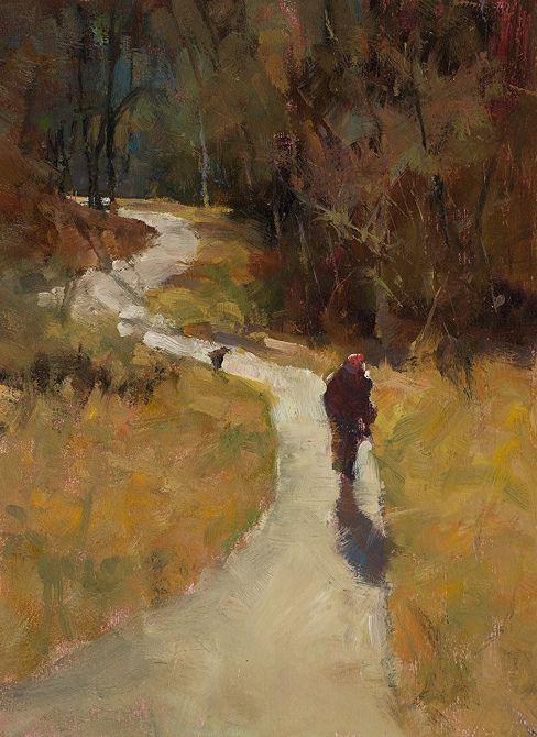 Autumn Walk by Derek Davis