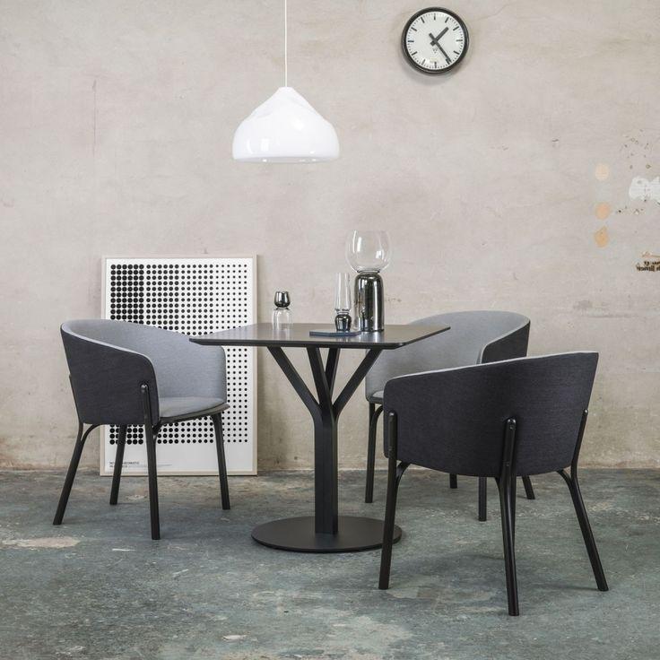 Split Armchair II  - дизайнерское кресло. Скандинавский стиль, модерн. Обеденный стул.