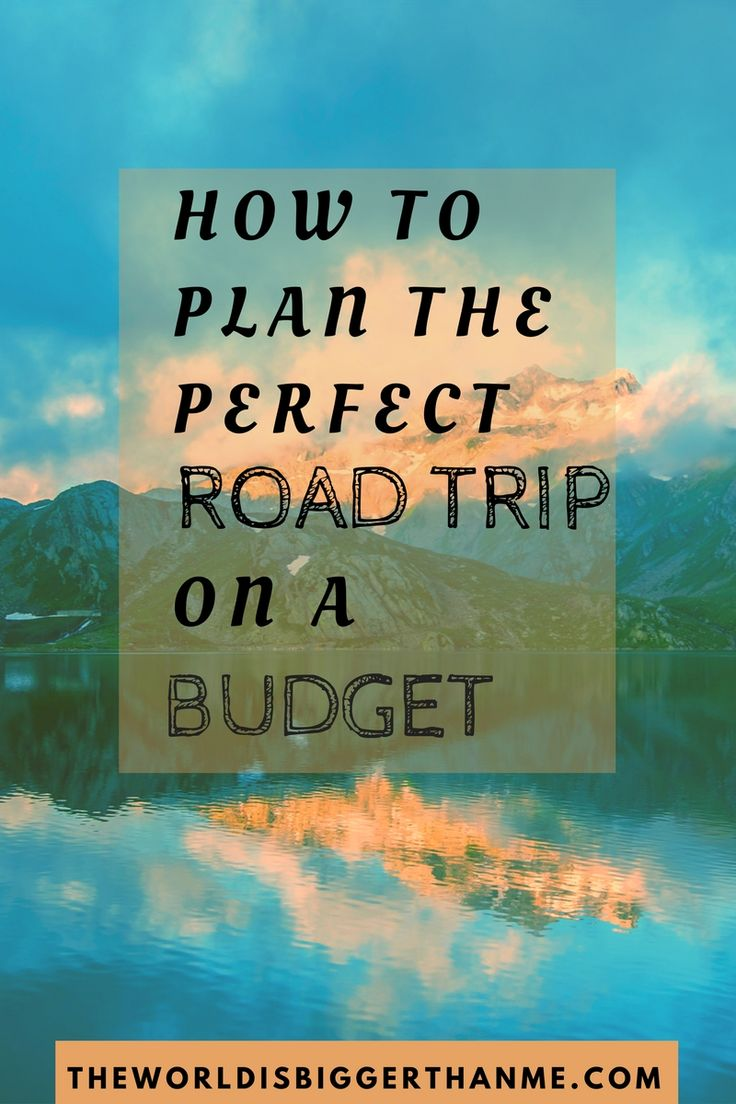 Make that road trip you've been wanting to take finally happen!