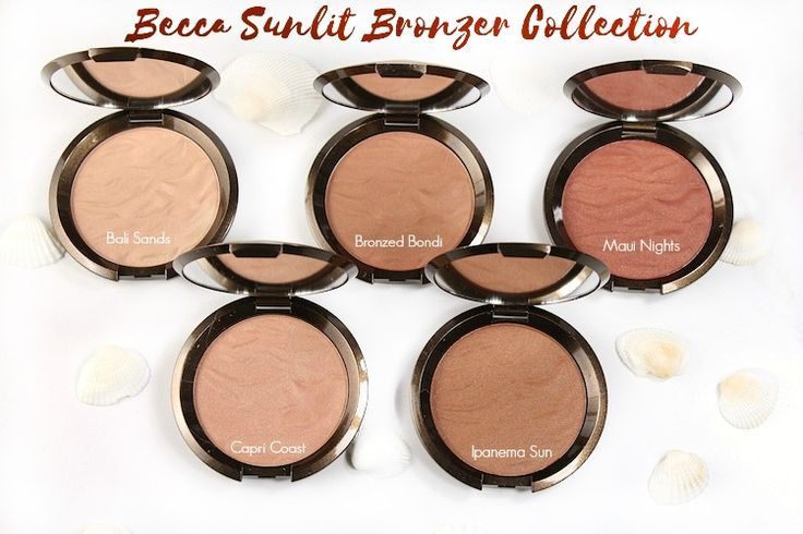 BECCA Cosmetics Sunlit Bronzer Collection – Beauty411
