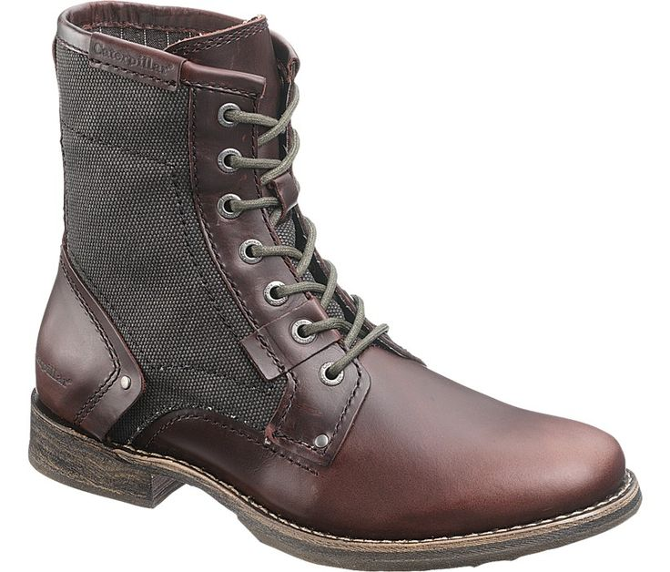 Mens Abe Canvas Boot - P716887 - Soft Toe Work Boots | CAT Footwear