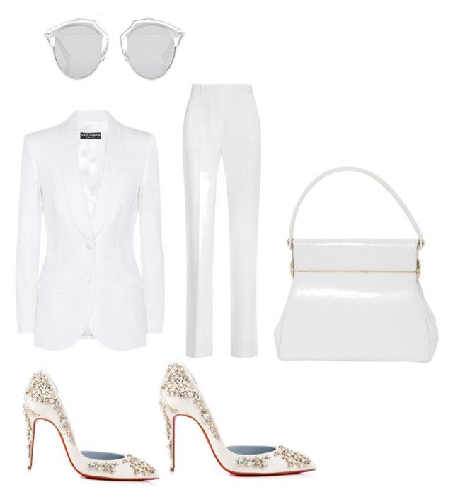 """""""LA basketball game"""" by fashionbomb3 on Polyvore featuring Christian Louboutin, Dolce&Gabbana, Givenchy and Christian Dior"""