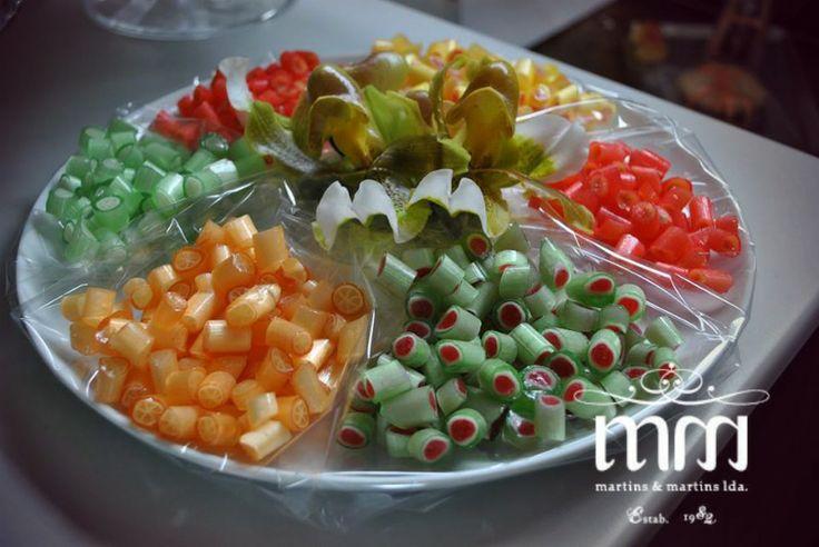 Rebuçados alusivos ilha da Madeira. Vários sabores.  www.martinsemartins.com