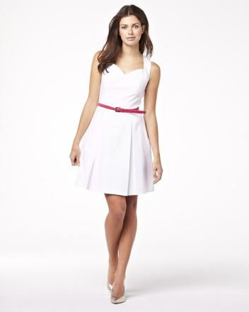 Summer 2013 Collection Sleeveless dress with detailed back